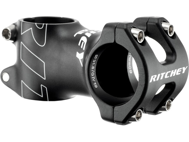 Ritchey Trail Potence à angle ajustable Ø31,8 0°, bb black